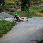 Longboard-crash-großerlach-freeride-session-2015