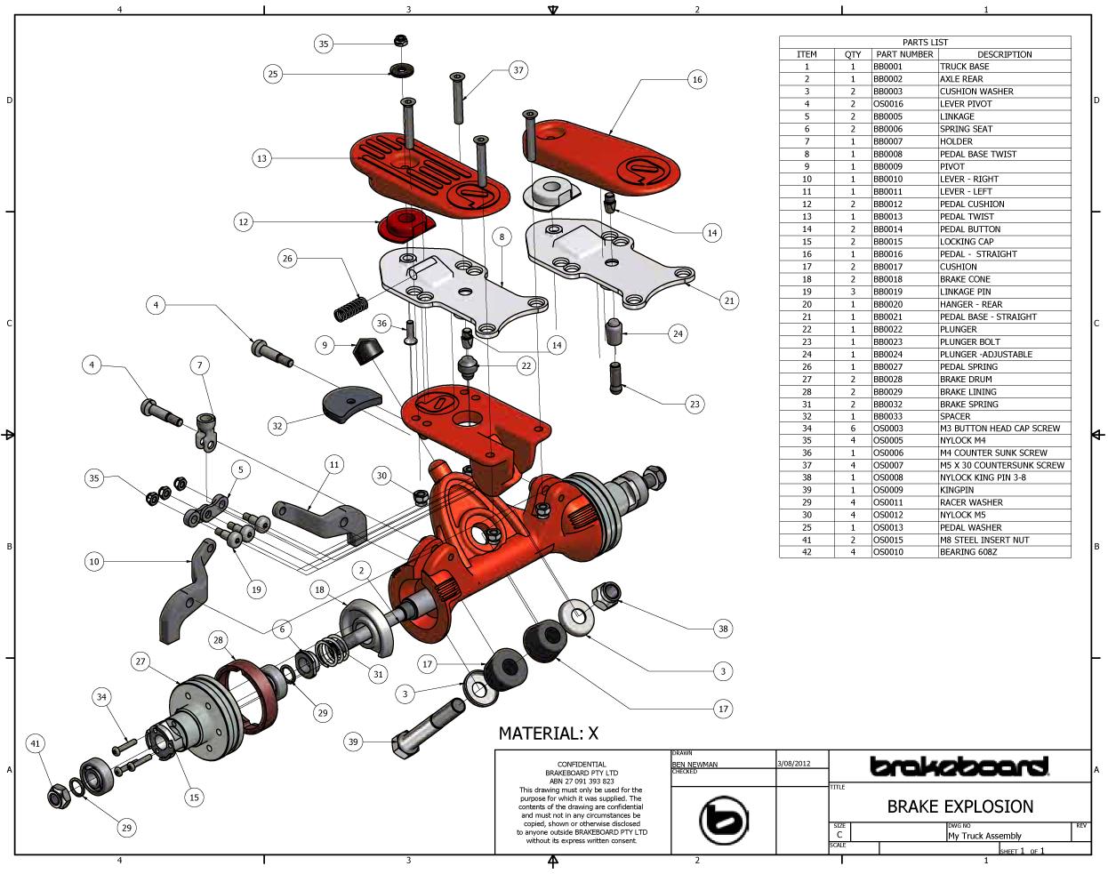 longboard-brake-bremse-achse-explosions-zeichnung